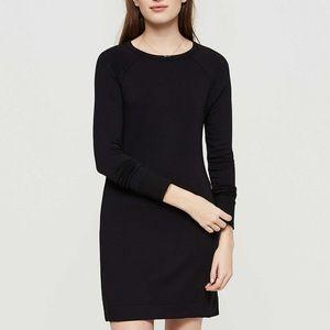 Loft signature soft sweatshirt dress